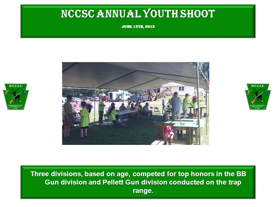 NCCSC Annual Youth Shoot June 15th, shooters competed for