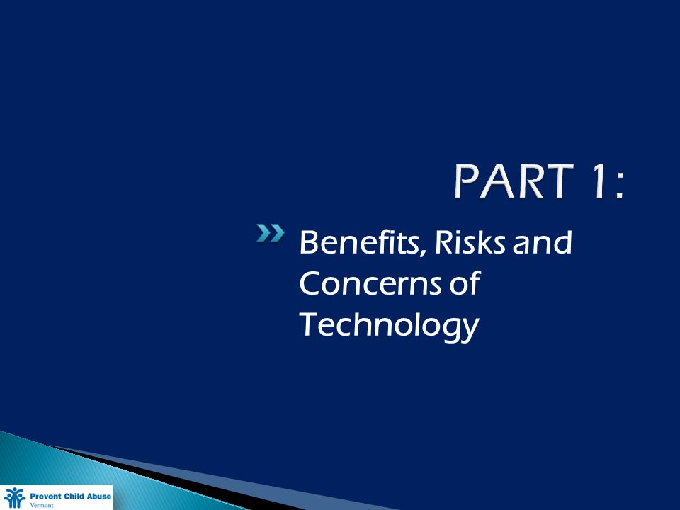 Benefits, Risks and Concerns of Technology