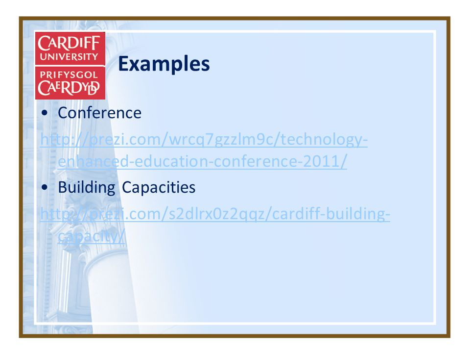 Examples Conference   enhanced-education-conference-2011/ Building Capacities   capacity/