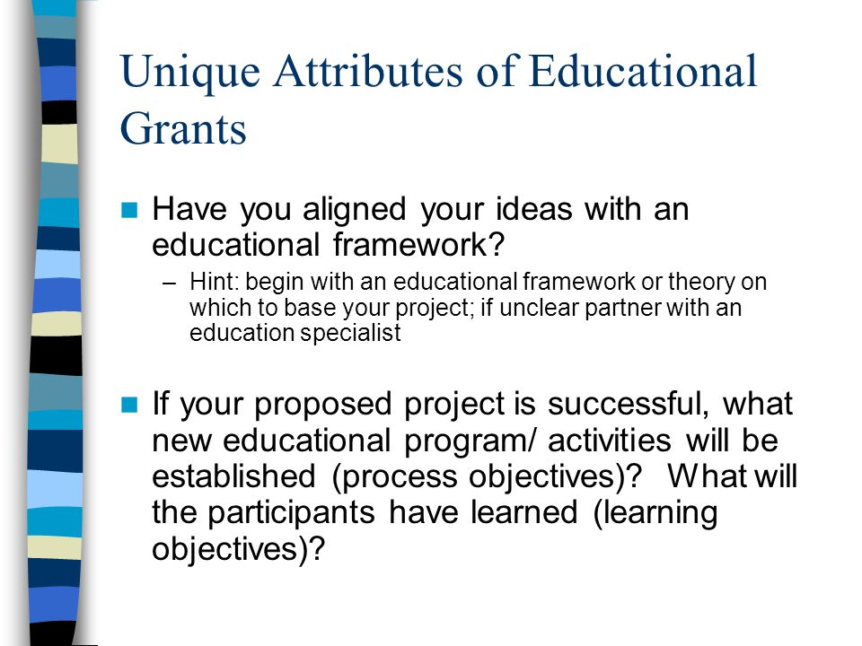 grant writing education grants janet townsend md alice fornari