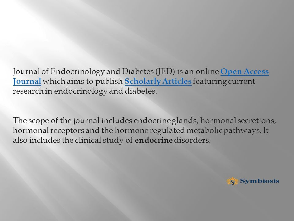 diabetes scholarly articles