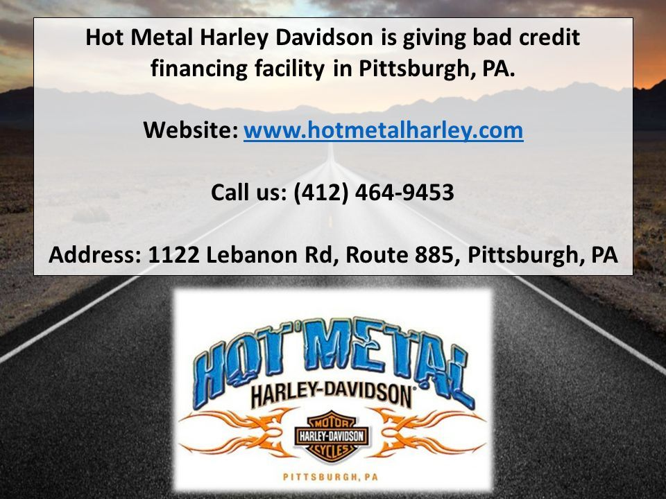 How To Get Harley Davidson Financing Despite Bad Credit Ppt Download