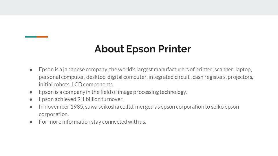 Epson Printer Password reset Call for Epson Technical