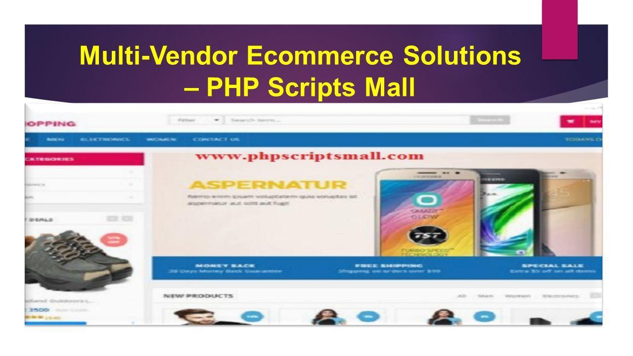 Multi-Vendor Marketplace Script   Multi-Vendor Ecommerce