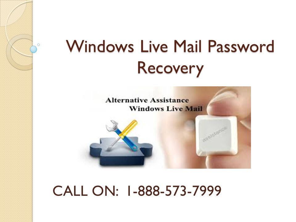 windows live account recovery phone number