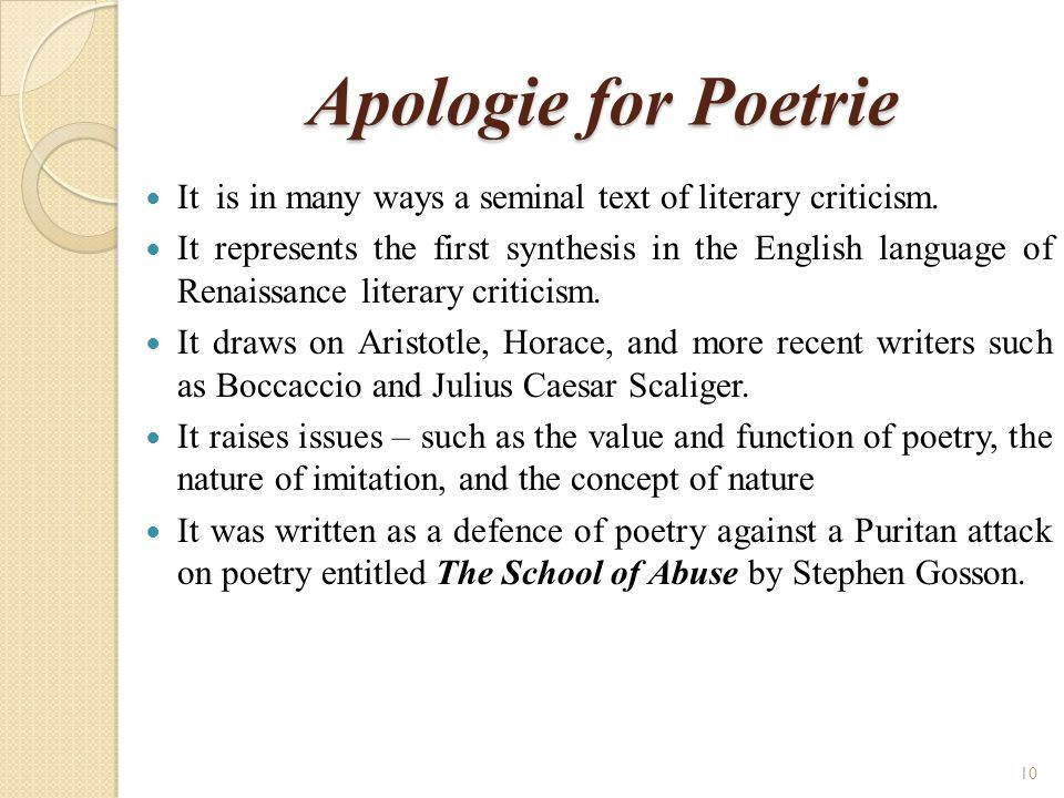 sidney as a perfect renaissance critic