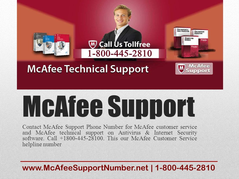 McAfee Support phone number, mcafee live chat support