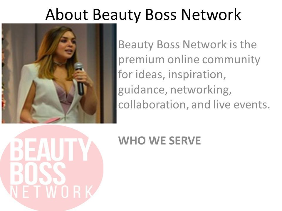 Beauty Boss Network Fashion And Beauty Business Ideas Ppt Download