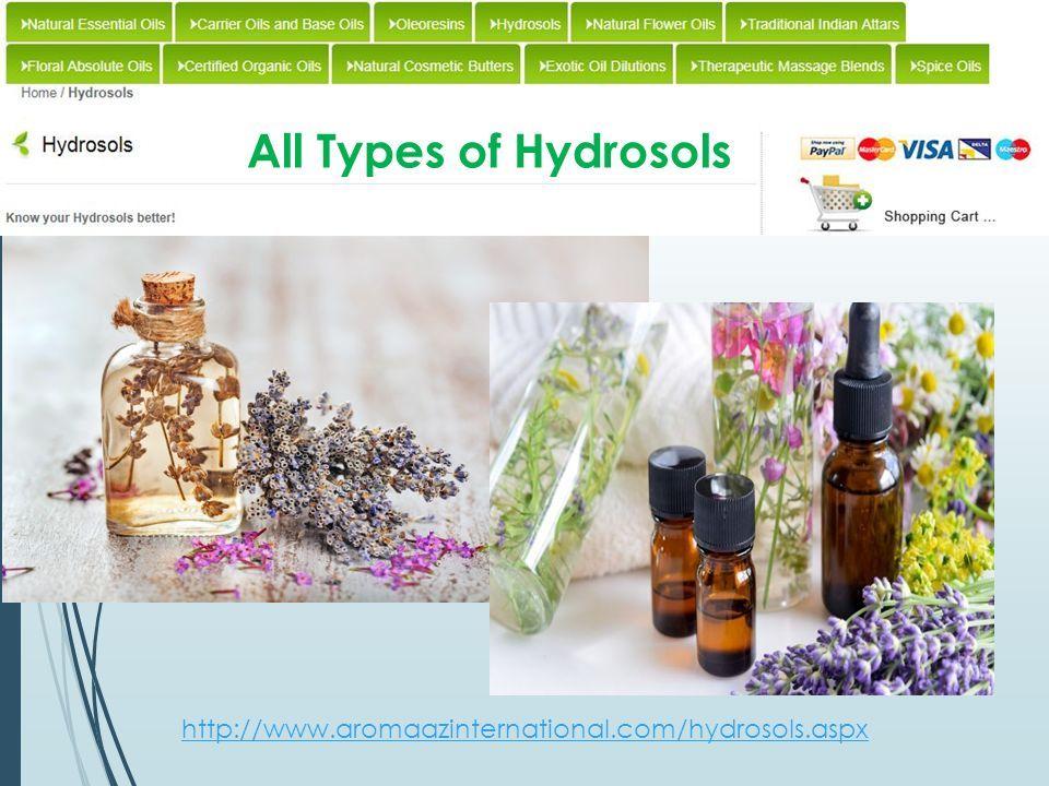 Organic and All types of Essential oils Aromaazinternational