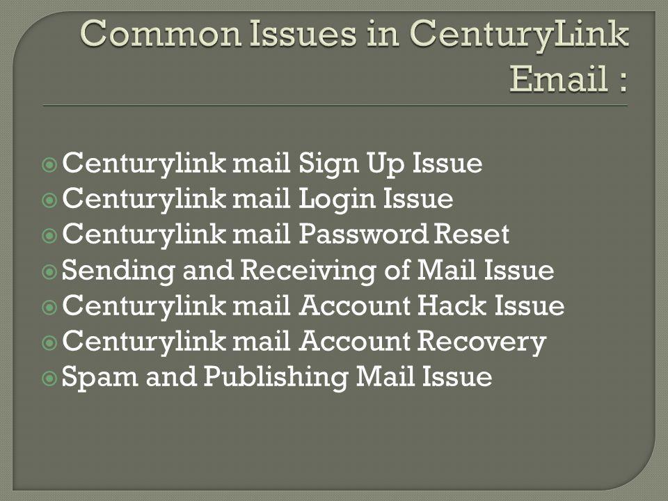 Centurylink customer support number ppt download 5 centurylink mail sign publicscrutiny Choice Image