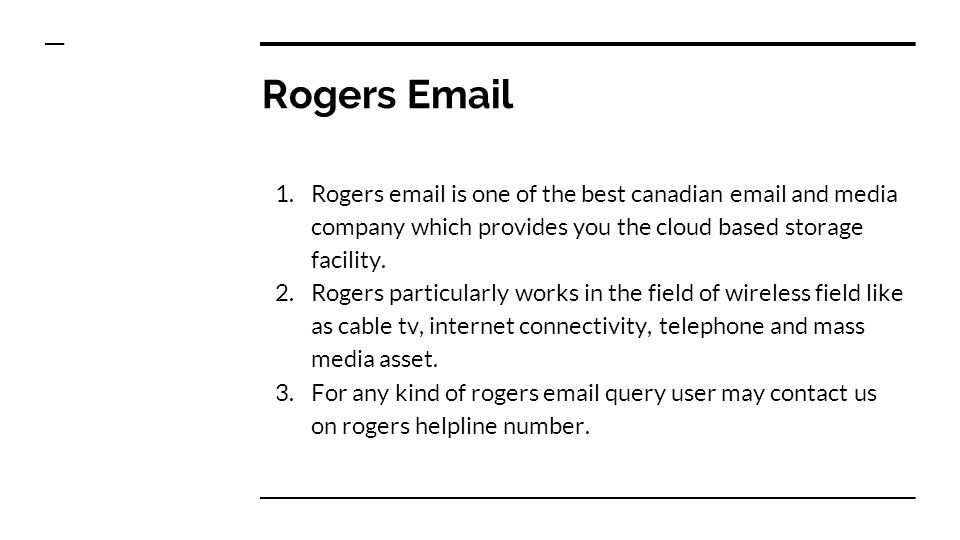 Rogers Helpline Number S Have facing issue in your rogers