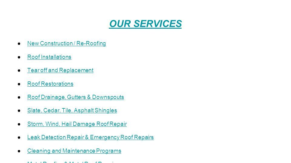 Welcome To Franksroofingsolutions Residential & Commercial