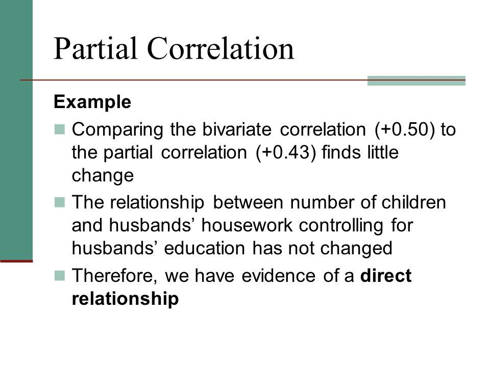 Week 14 Chapter 16 – Partial Correlation and Multiple