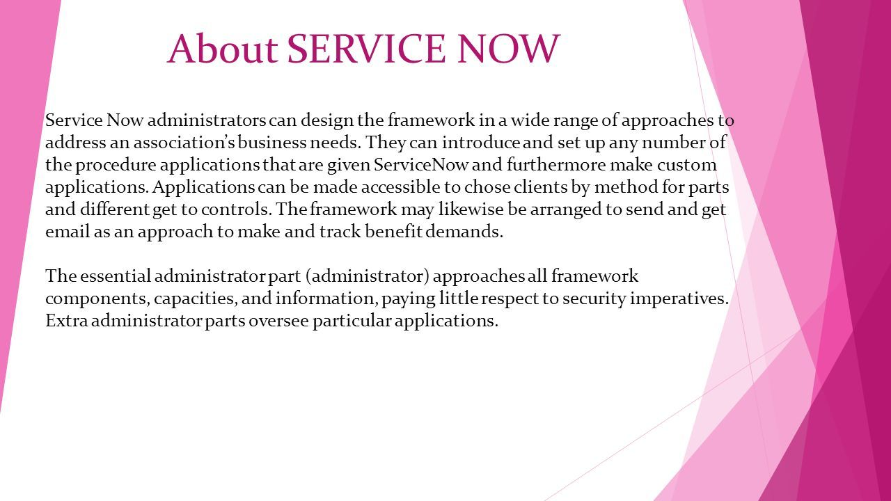 SERVICE NOW online Training at GoLogica - ppt download