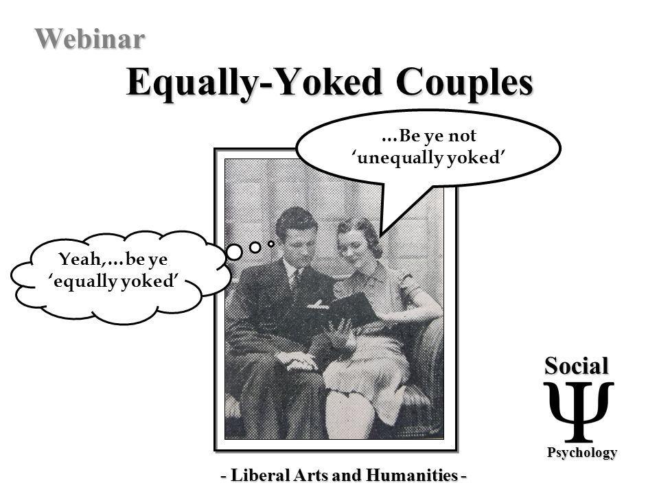 Unequally yoked definition