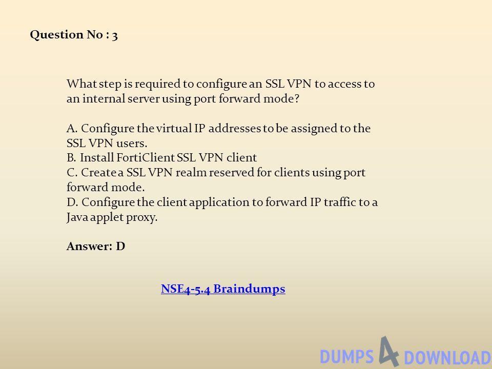 Fortinet Network Security Expert 4 Written Exam - FortiOS