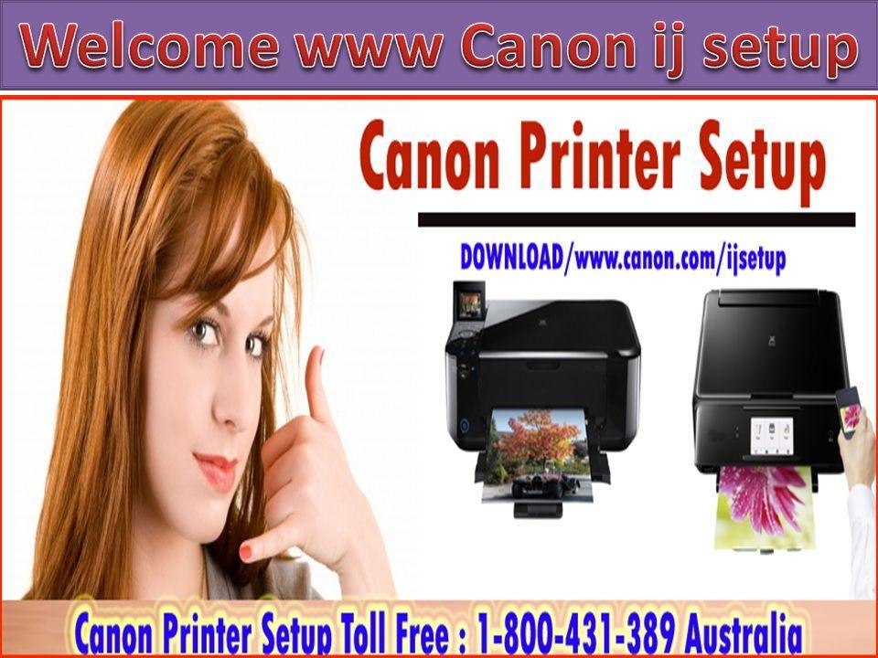 Canon com ijsetup, Canon Inkjet Setup, Canon ijSetup and