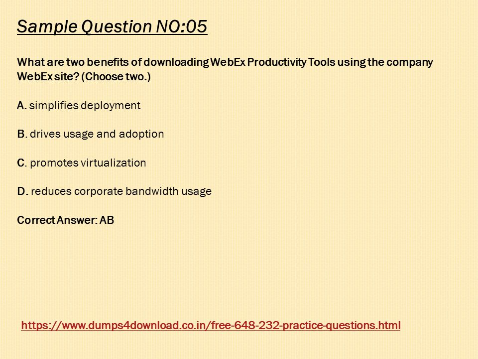 Cisco WebEx Solutions Design and Implementation Dumps