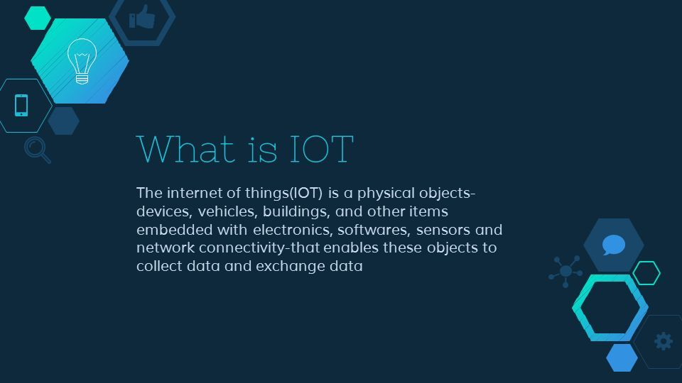 IOT ppt - ppt download