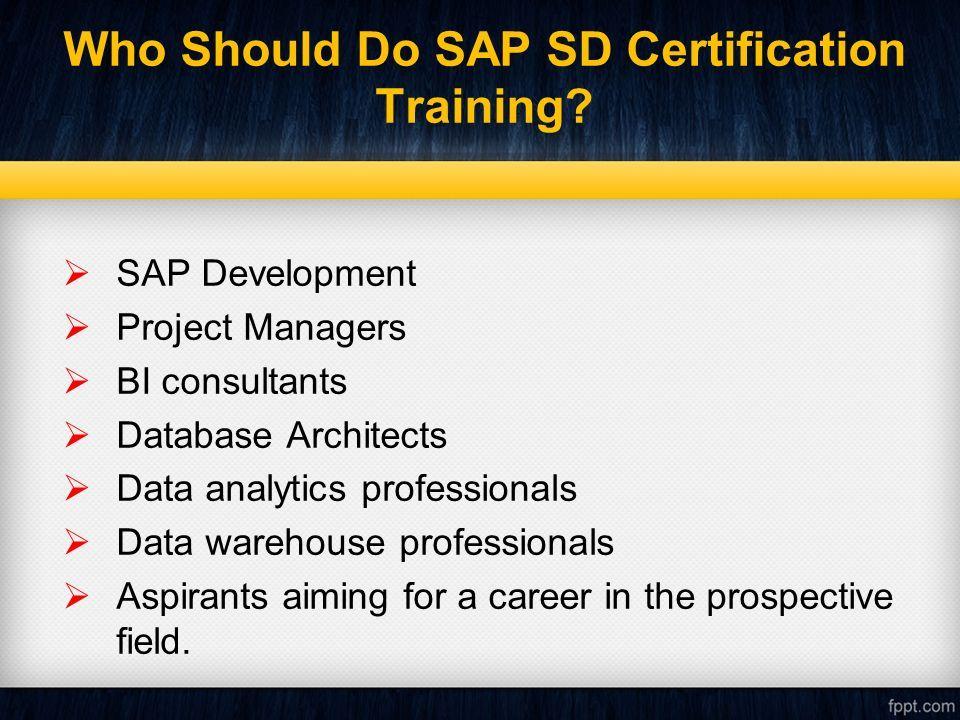 SAP SD Training Institutes In Hyderabad SAP SD Training Institutes