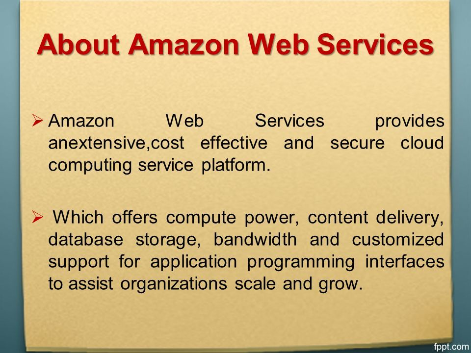 Amazon Web Services Training in Hyderabad  About Us Best Amazon Web