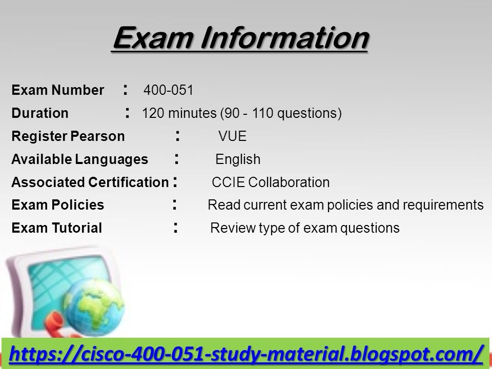 Cisco Exam Study Questions & PDF Training Material - ppt