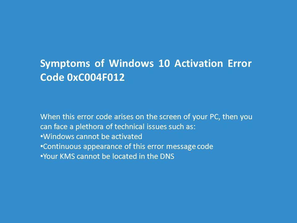 activate windows blue screen