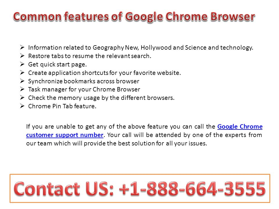Dial while your Chrome browser Is giving you bored feeling Call us ...