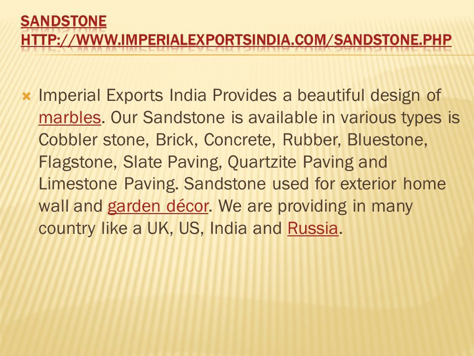  Imperial Exports India Provides a beautiful design of marbles.