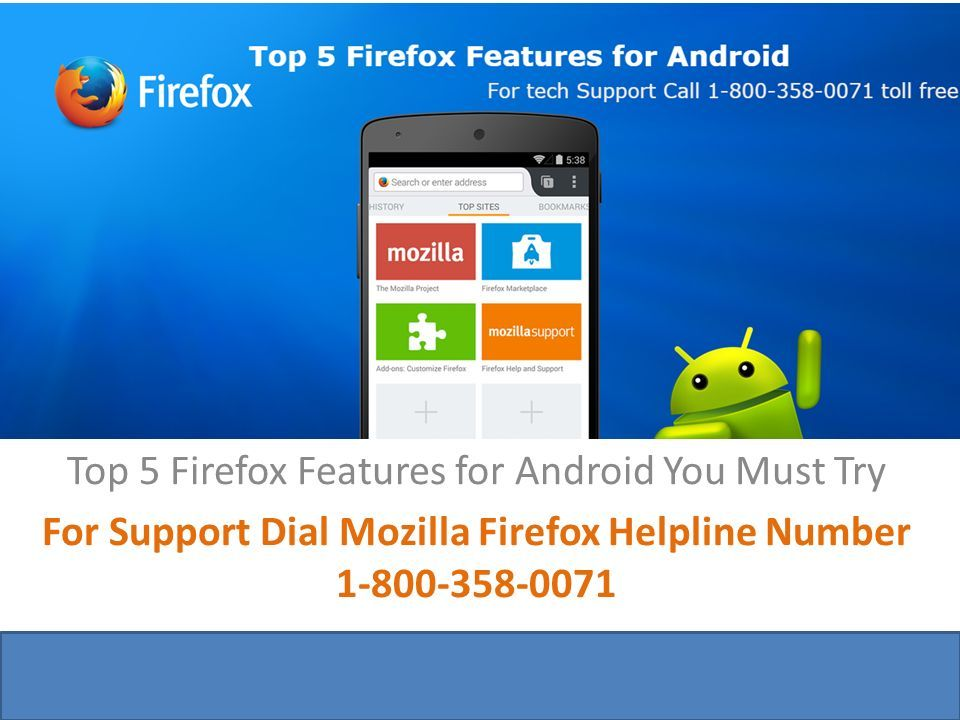 Top 5 Firefox Features for Android You Must Try For Support Dial