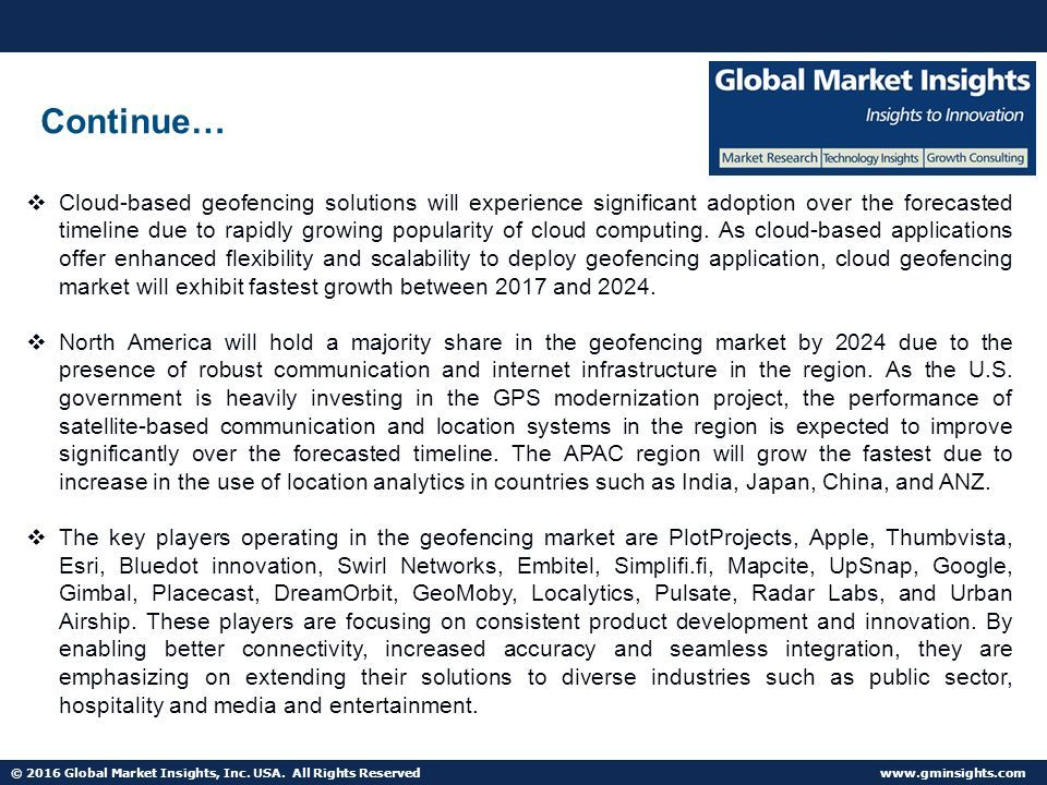 2016 Global Market Insights, Inc  USA  All Rights Reserved
