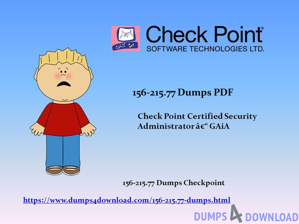 Dumps PDF Check Point Certified Security Administrator – GAiA
