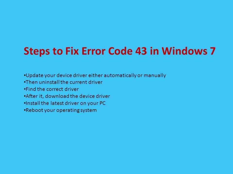 Windows 7 update troubleshooting steps | Windows 7
