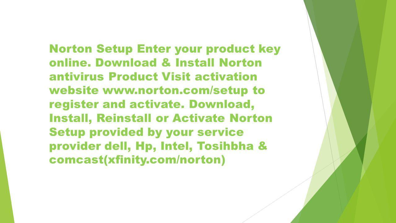 Norton com/setup - Download, Activate, Install - Reinstall