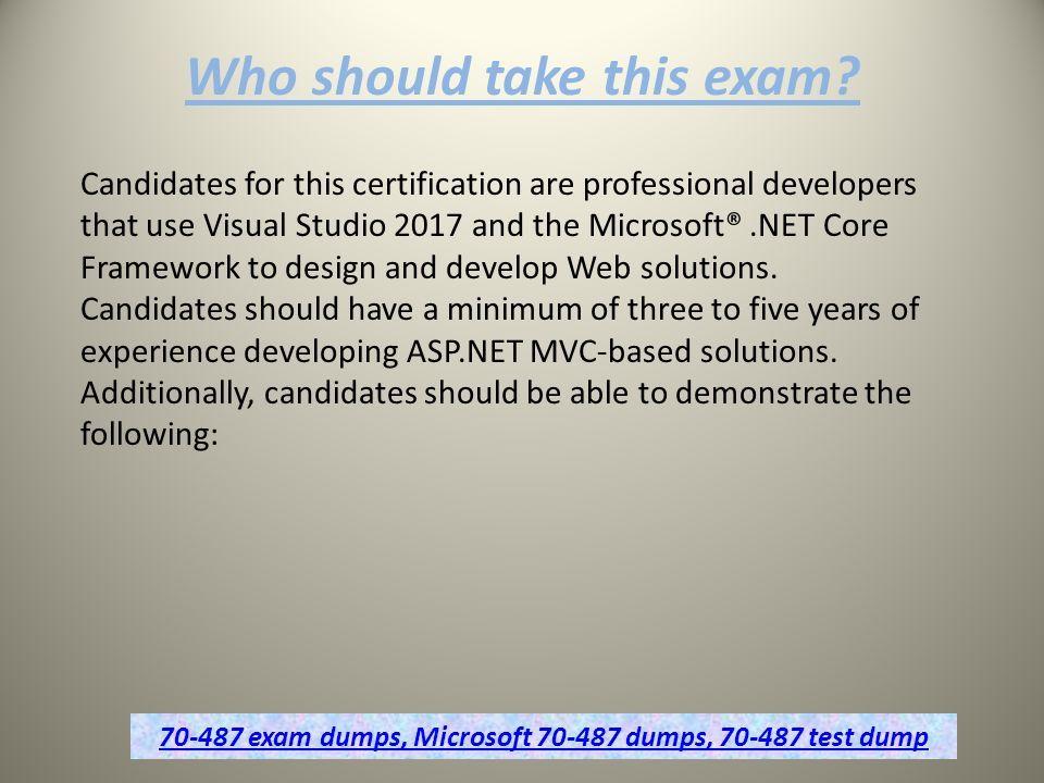 Free Microsoft Exam Dumps Questions Dumps4downlod Ppt Download