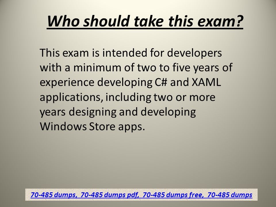 Free Microsoft Exam Study Material Dumps4download Ppt Download