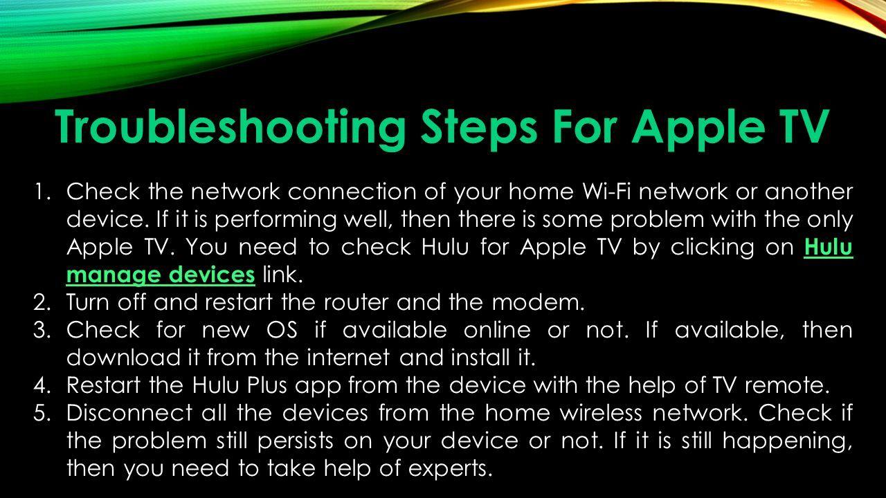 Best way to fix Hulu's Error  - ppt download
