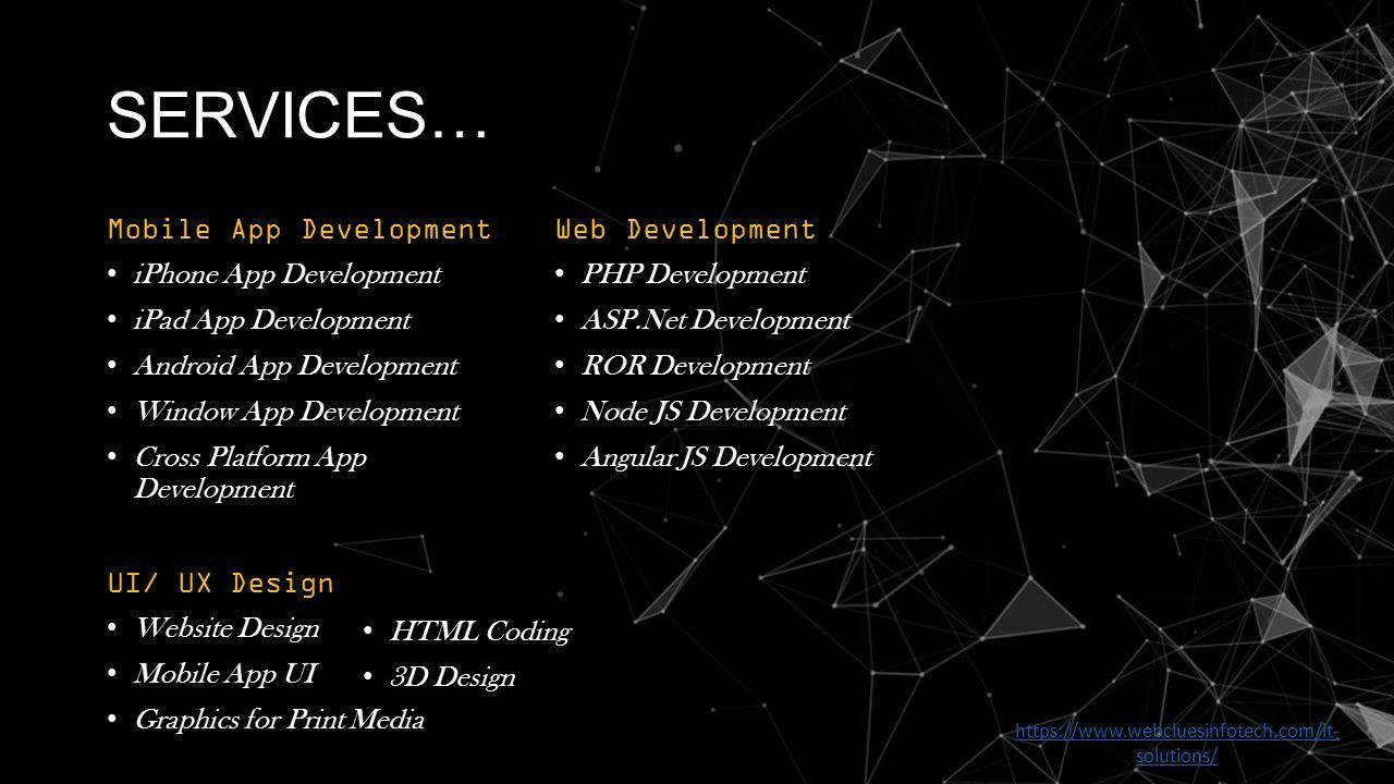 WebClues Infotech A Finite Solution Web & Mobile App Development