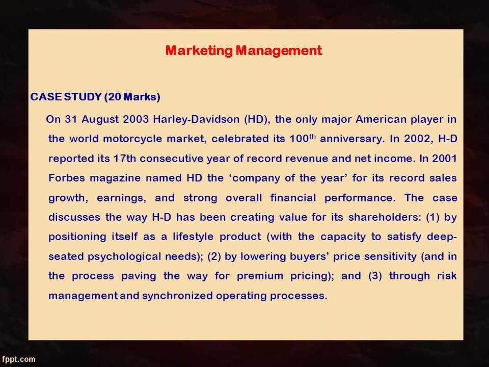 Marketing Management Dr Aravind Banakar Ppt Download