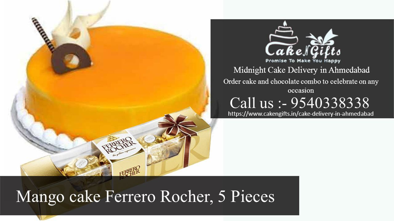 Delivery In Ahmedabad Order Cake 11 Mango