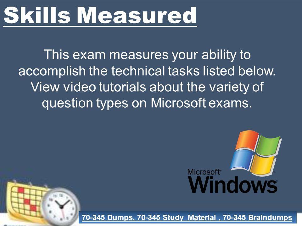Valid Microsoft Exam Dumps Dumps Pdf Exam Questions Realexamdumps