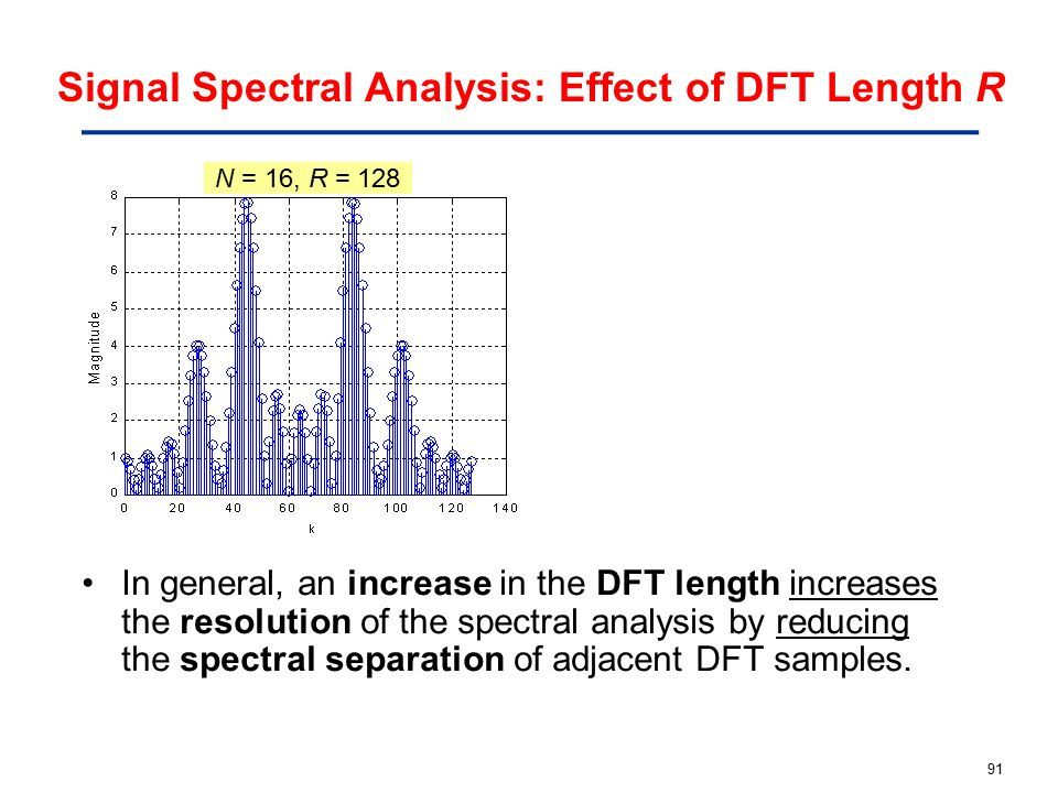 ME2300 DIGITAL SIGNAL PROCESSING [Slide 2] Frequency Domain Analysis