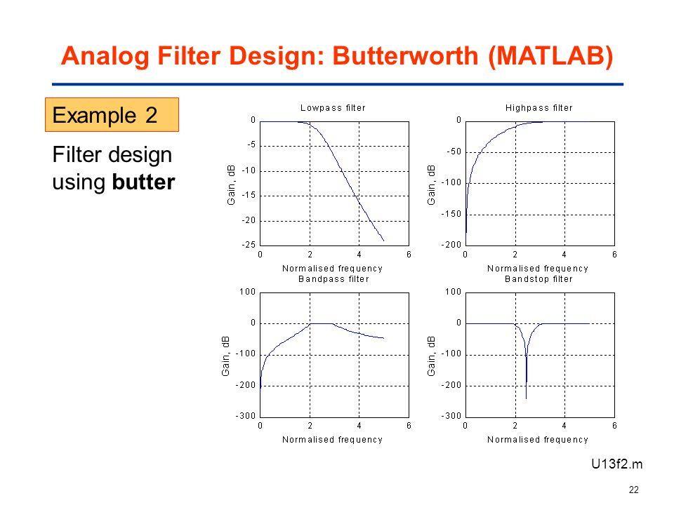 ME2300 DIGITAL SIGNAL PROCESSING [Slide 6] IIR Filter Design BY