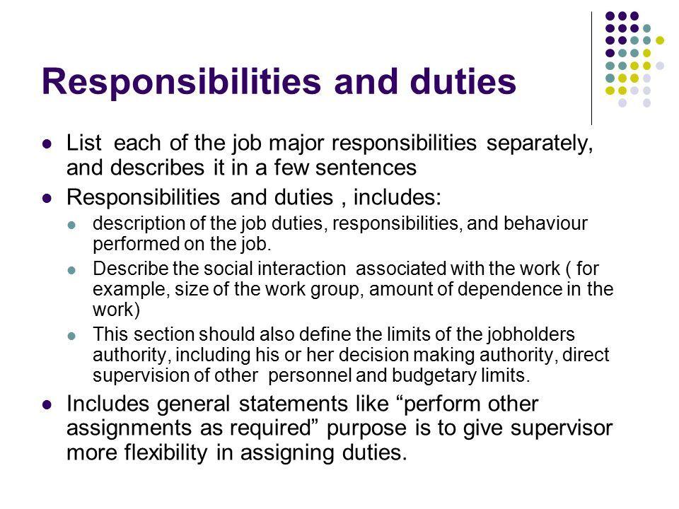 job analysis and job design defining job analysis the procedure