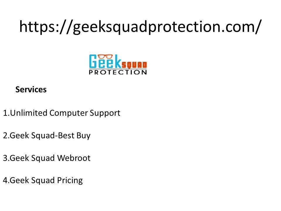 Geek Squad Pricing Services Presentation Transcript 1