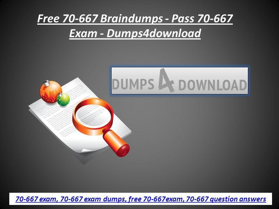 70 667 DUMPS PDF DOWNLOAD