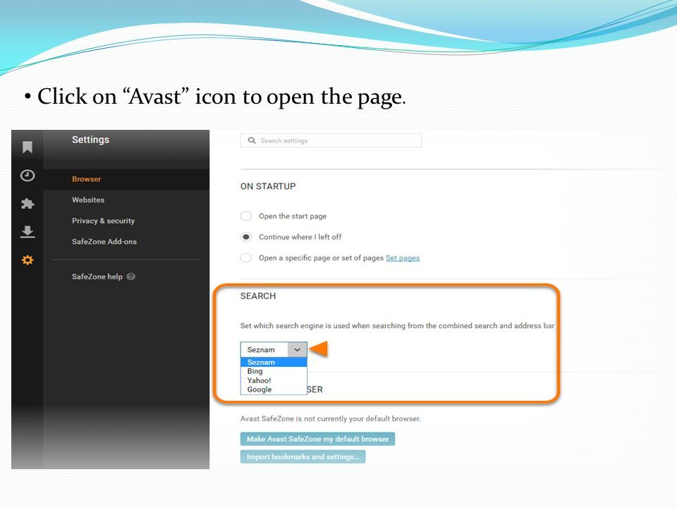 How to allow USB Flash Drive Scan in Avast Antivirus  - ppt