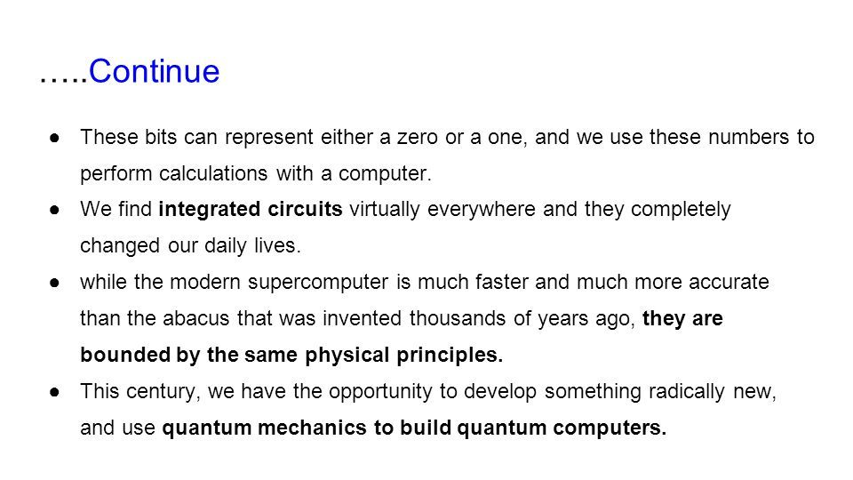 Quantum Computers Superposition Interference Entanglement