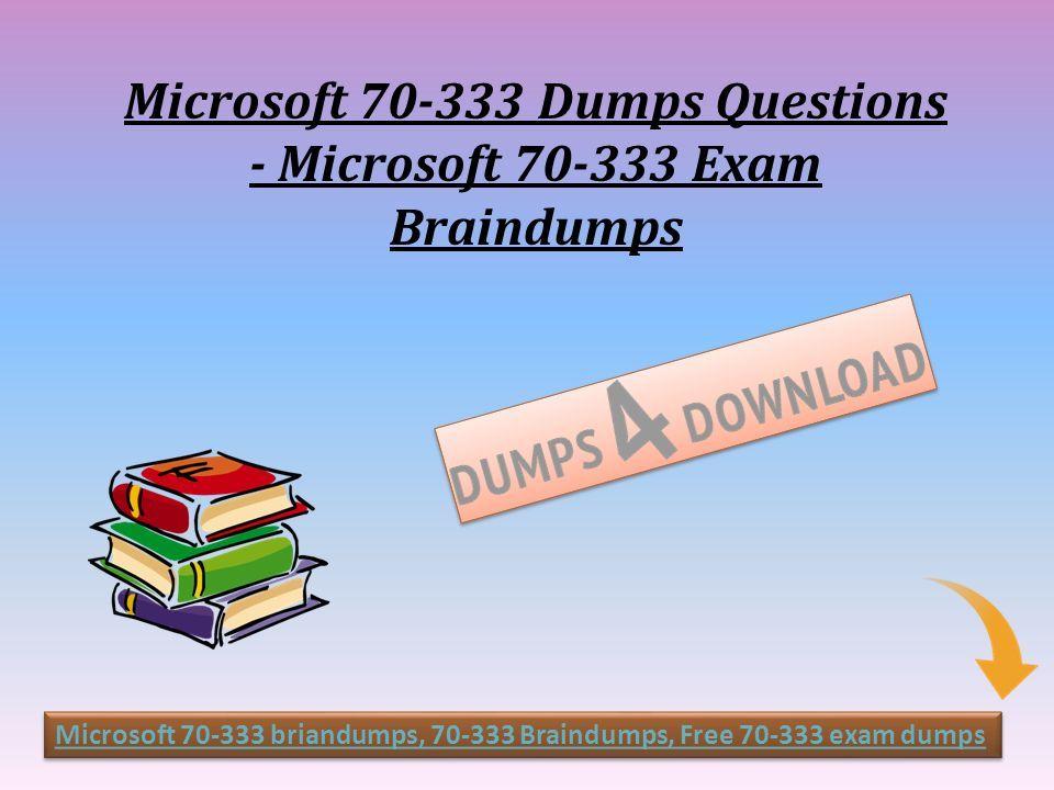 Get Microsoft Exam Real Questions Microsoft Dumps Dumps4download