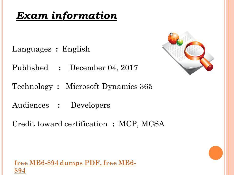 Mcp Dumps Pdf